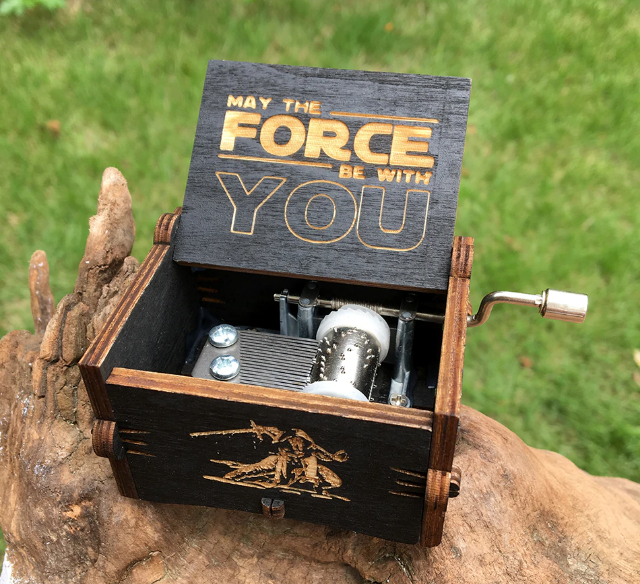 """Force Be With You"" Music Box"