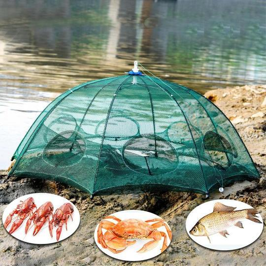 Automatic  Folding Fish Trap - ** BUY 2 GET 1 FREE ***