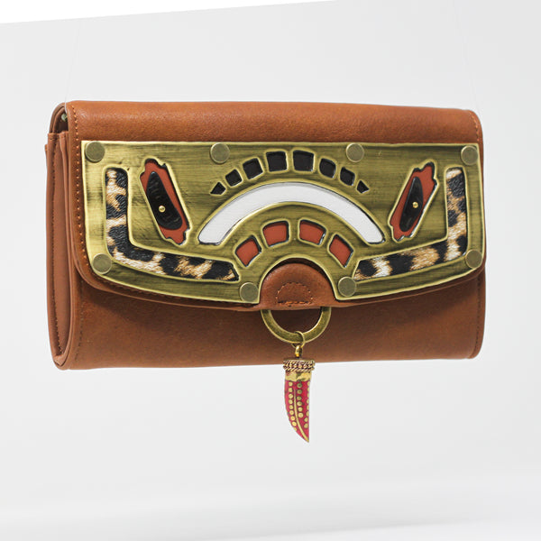 AFRICANA SADDLE WALLET