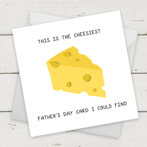 This is the cheesiest card