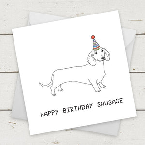Happy Birthday Sausage