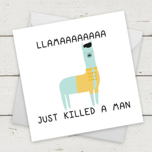 Llama Just Killed A Man - Freddie Mercury
