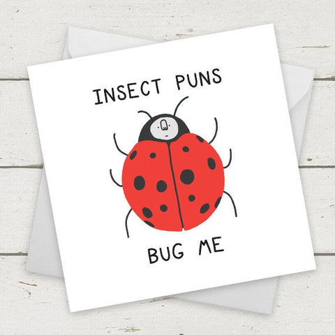 Insect Puns Bug Me