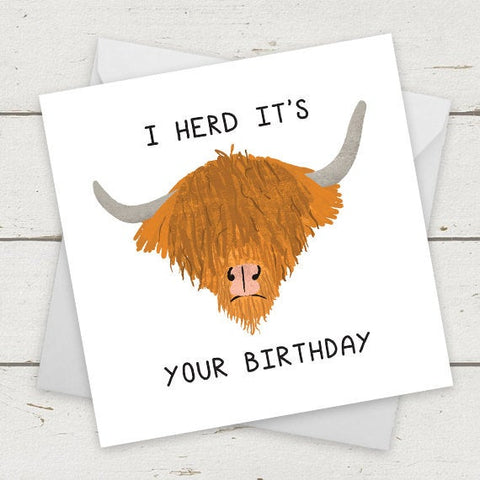 I herd it's your birthday