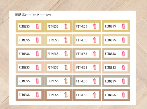 Stickervel fitness joshv2 11261