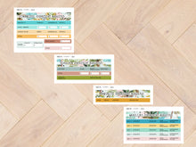 Image in Gallery view loading, sticker sheets combi financial overview August 8030 to 8033