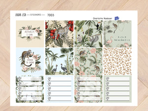 Jufvlogt Collection of botanical teachers 7003
