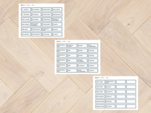 Sticker sheets for special days of primary education 3175 - 3177