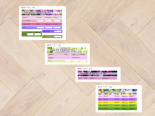 Load image in Gallery view, Sticker sheets combi financial overview May 8066 to 8069