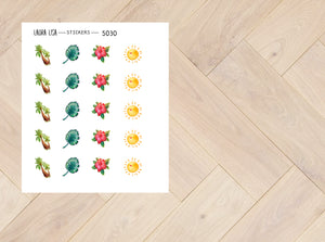 Doodle Stickers Nature 5030