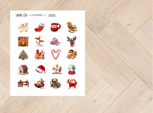 Doodle Stickers Christmas 5053