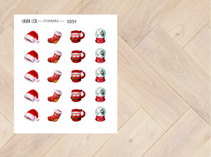 Doodle Stickers Christmas 5054