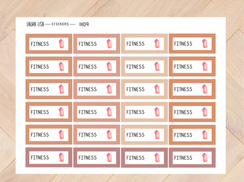 Stickervel fitness joshv 11109