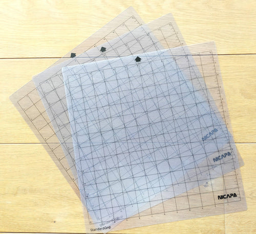3x3 Self-adhesive cutting mats for silhouette 12x12