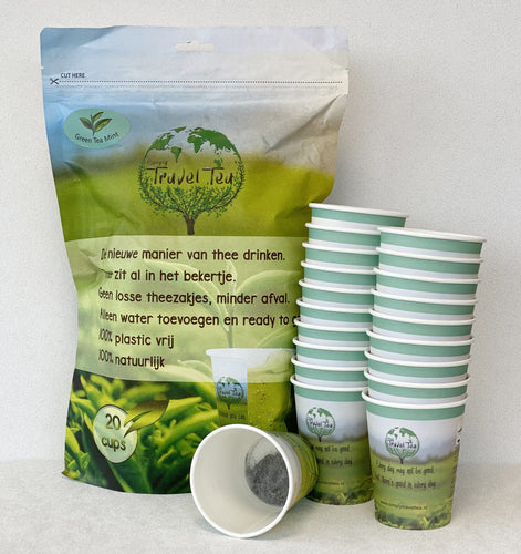 Simply Travel Tea Green Tea Mint 20 bekers