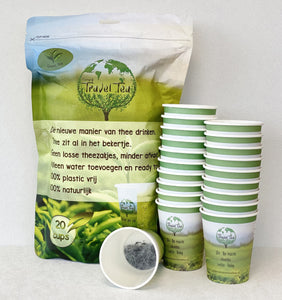 Simply Travel Tea Green Tea 20 cups