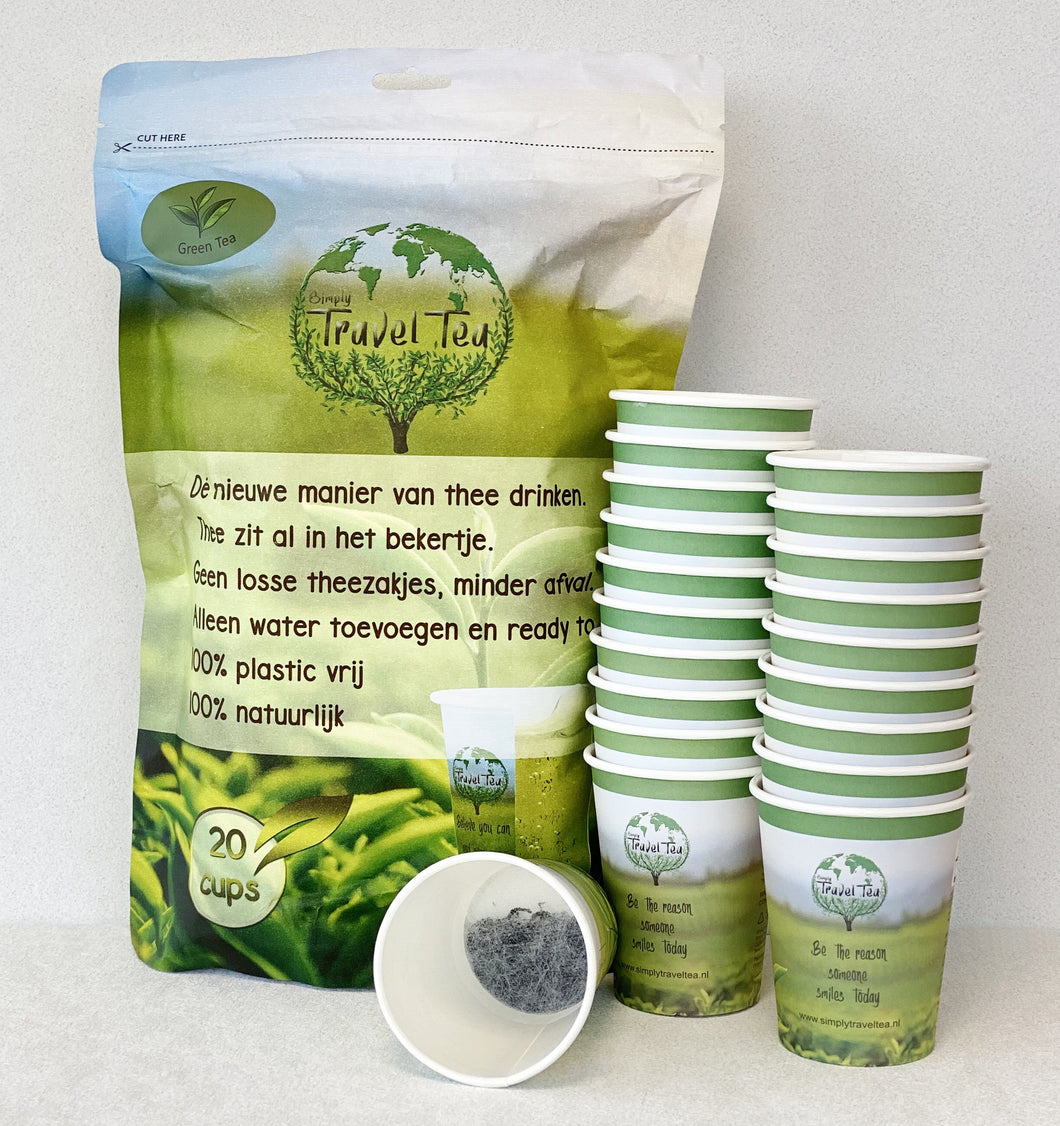 Simply Travel Tea Green Tea 20 bekers