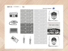 Load image in Gallery view, Jufvlogt general collection black / white 7011