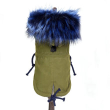 Load image into Gallery viewer, Jacket w/ Faux Fur Trim and Fleece Lined - Olive