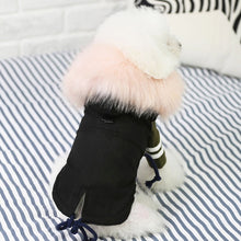 Load image into Gallery viewer, Jacket w/ Faux Fur Trim and Fleece Lined - Black