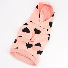 Load image into Gallery viewer, Heart Hoodie - Pink