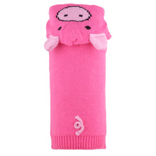 Load image into Gallery viewer, Animal Hood Knit Sweater - Piglet