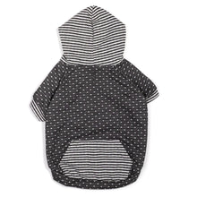Load image into Gallery viewer, Dot Stripe Hoodie - Gray