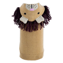 Load image into Gallery viewer, Animal Hood Knit Sweater - Lion
