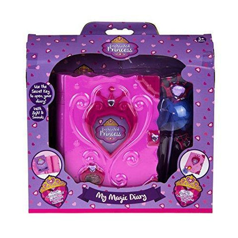 Enchanted Princess My Magic Diary With Secret Key