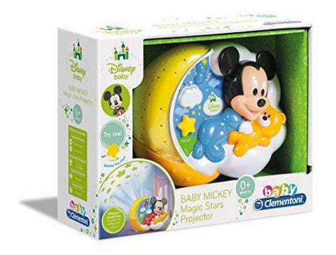 Clementoni Disney Mickey Mouse Baby Mickey Magic Stars Projector