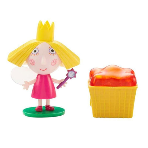 Ben & Holly Little Kingdom Figure & Accessory Holly With Jelly Basket