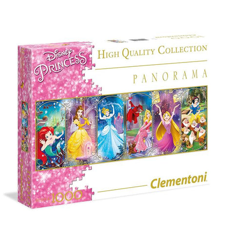 Clementoni Disney Princess Panorama Princess 1000 Piece Jigsaw Puzzle