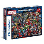 Clementoni Marvel 1000 Piece Impossible Jigsaw Puzzle