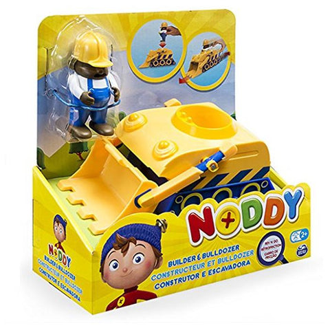 Noddy Rev N Go Pull Back Builder & Bulldozer Vehicle