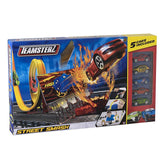 Teamsterz Street Smash Car Playset With 5 Cars