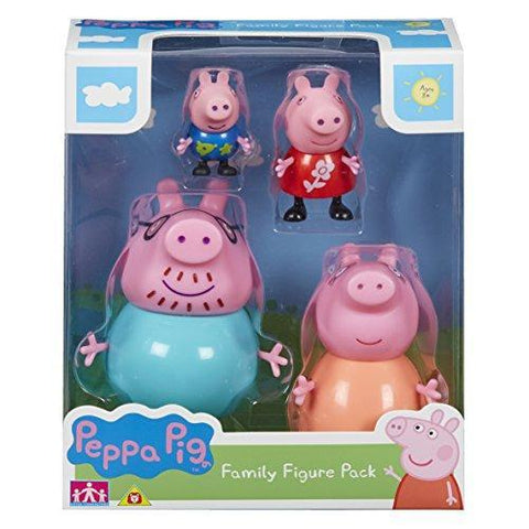 Peppa Pig Family Figures 4 Figure Pack