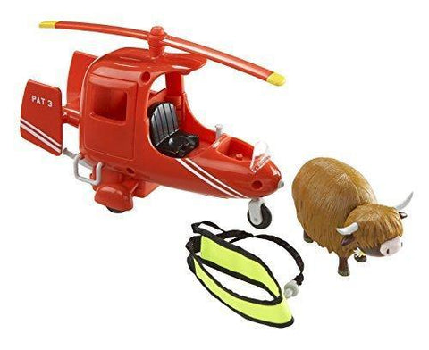 Postman Pat SDS Helicopter Vehicle With Figure