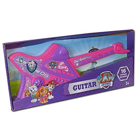 Paw Patrol Electronic Musical Skye & Everest Girls Guitar With 16 Sounds