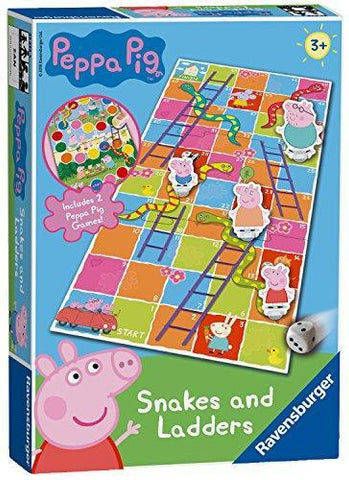 Ravensburger Peppa Pig Snakes & Ladders Game
