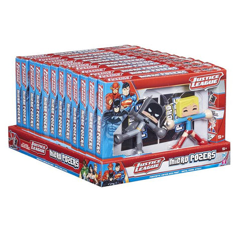 DC Comics Justice League Micro Pozers 2 Double Pack Ramdom