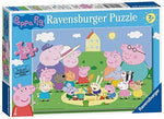 Ravensburger Peppa Pig Fun in the Sun 35 Piece Jigsaw Puzzle