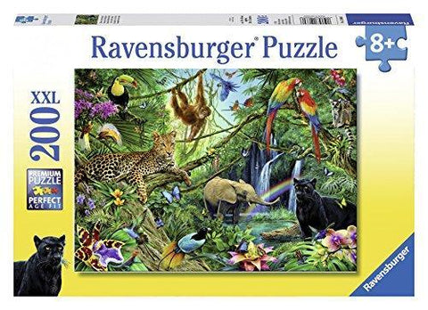 Ravensburger Jungle 200 Piece XXL Jigsaw Puzzle