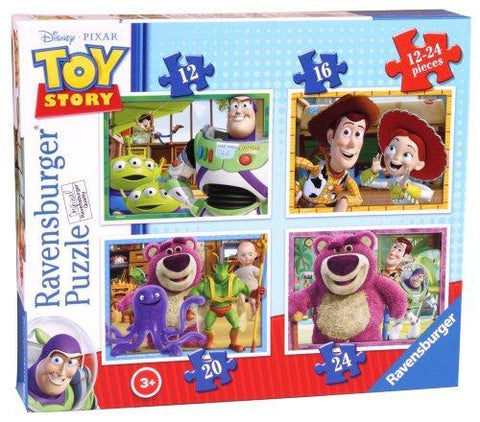 Ravensburger Disney Toy Story 4 In A Box  Jigsaw Puzzles (12,16,20,24 Pc)