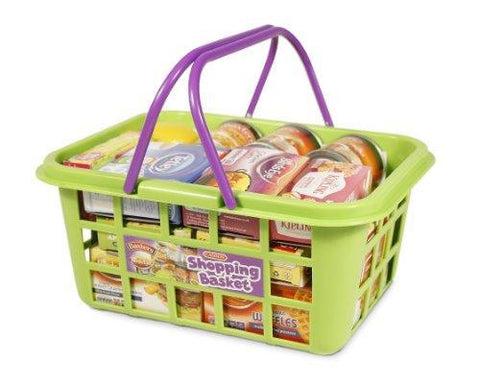 Casdon Shopping Basket with Branded Shopping