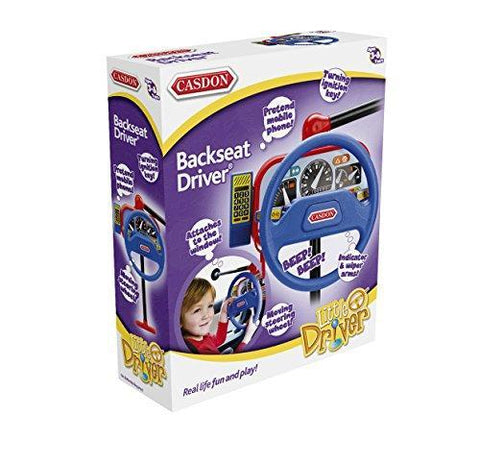 Casdon Toy Backseat Driver Steering Wheel