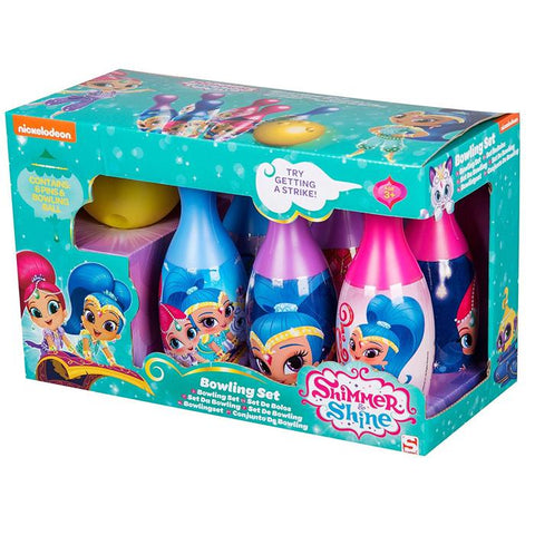 Shimmer & Shine 7 Piece Bowling Set