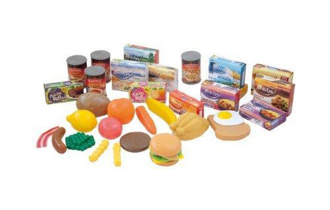 Casdon Grocery Shopping Toy Food Set (36 Pieces)