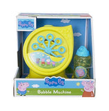 Peppa Pig Electronic Bubble Machine With Solution