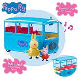 Peppa Pig School Bus With Sound & Figures