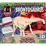 Jurassic Dino World Dig & Discover Brontosaurus Digging Kit ''Unearth The Bones''